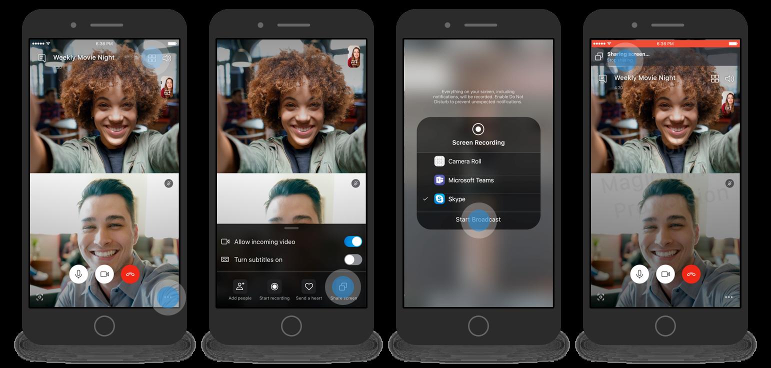 Condividere-schermo-smartphone-Skype