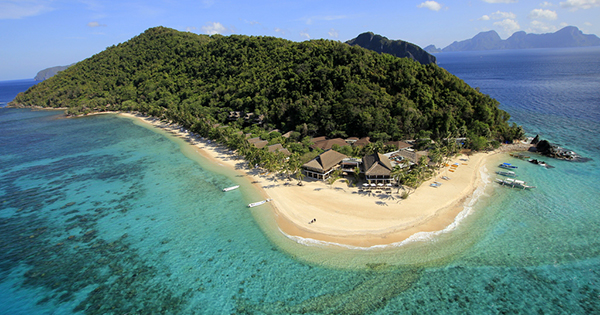 Pangulasian Island Resort in Palawan, Philippines