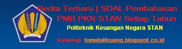 soal jawaban pembahasan usm pmb pkn stan; www.tomatalikuang.com