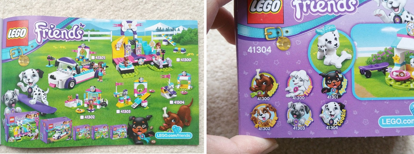 LEGO Friends Dog Show, LEGO Puppy Championship, LEGO Friends Pets