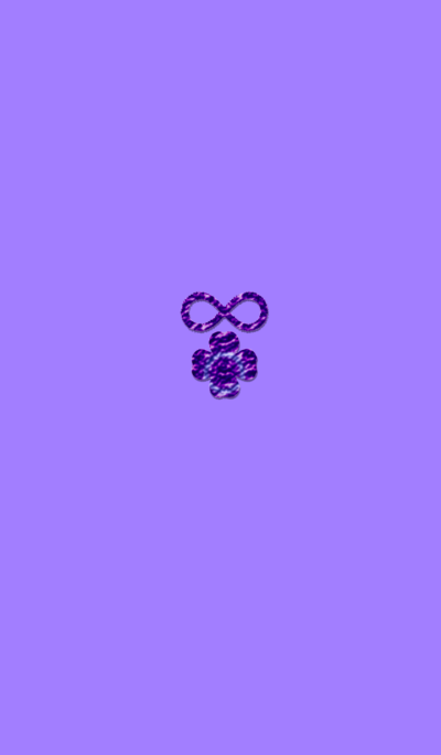 Infinity Clover Happiness Purple
