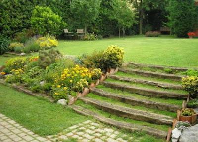 Jardines decorados con piedra en el 2012 for Jardines decorados con piedras