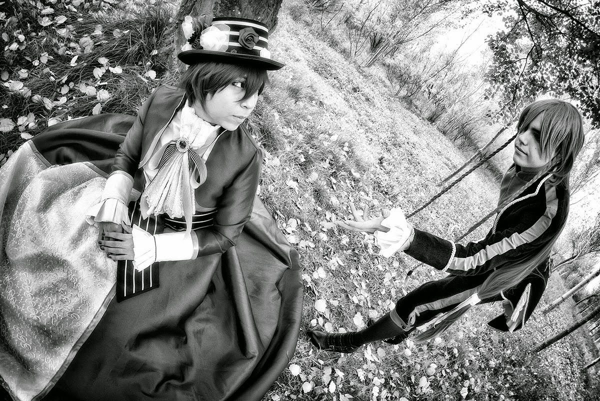 -VOCALOID- ·Alternative vers. of Venomania kou no kyouki (ヴェノマニア公の狂気) (Blanco y negro)
