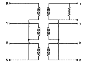 3 Phase Autotransformer Wiring Diagram Radio 2006 Dodge Ram 1500 Star Connection Of Transformer Your Electrical Home Fig