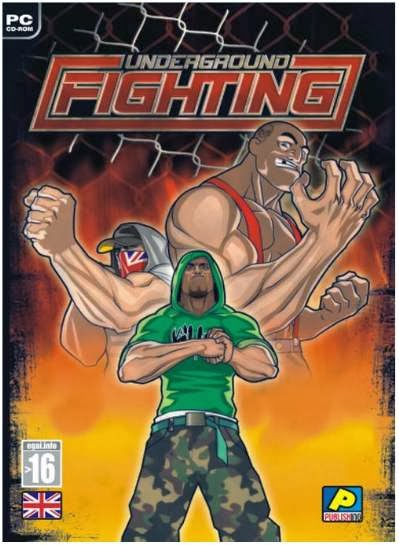 Underground Fighting PC Game Cover