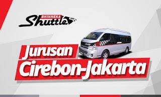 Shuttle Jurusan Cirebon-Jakarta