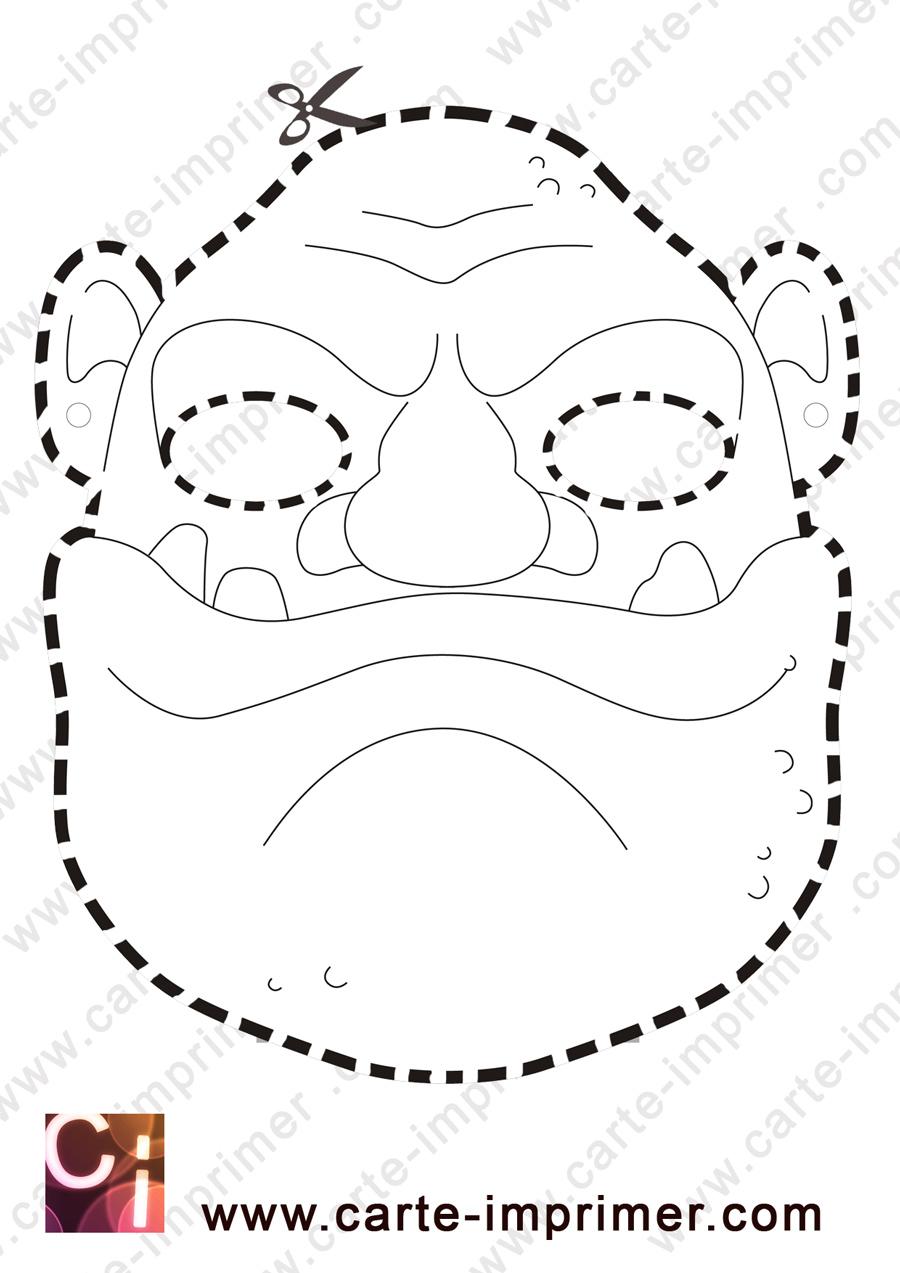 Mascaras Halloween Robot Gorila Y Tigre Para Imprimir Aires De Fiesta