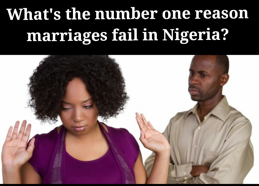 Number one reason marriages fail