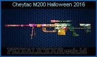 Cheytac M200 Halloween 2016