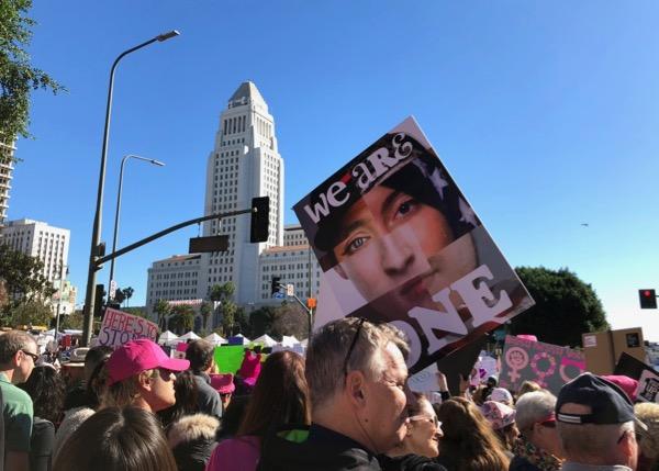 2018 Womens March DTLA