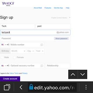 Yahoo Registration On www.yahoomail.com And Yahoomail Account
