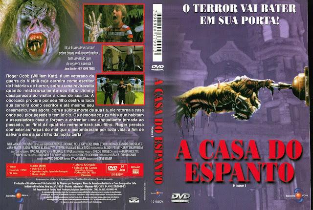 Capa DVD A Casa do Espanto