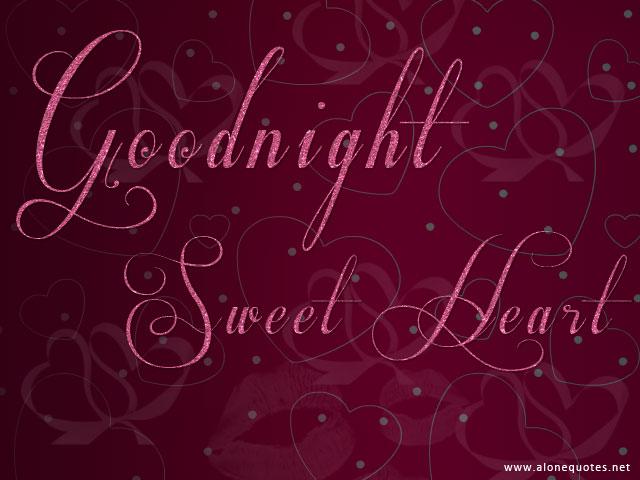 Goodnight Sweet Darling