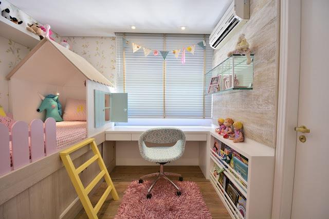 quarto-de-menina-com-decoração-casinha