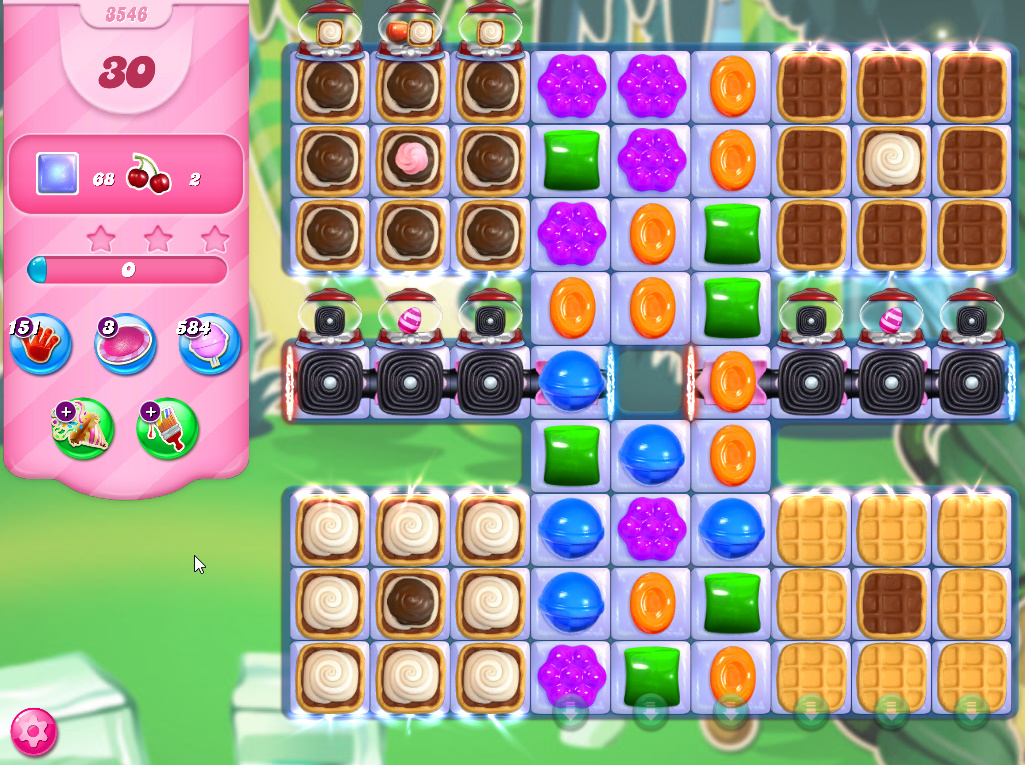 Candy Crush Saga level 3546