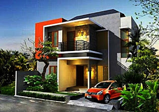 2-storey house design - Lampung interior house