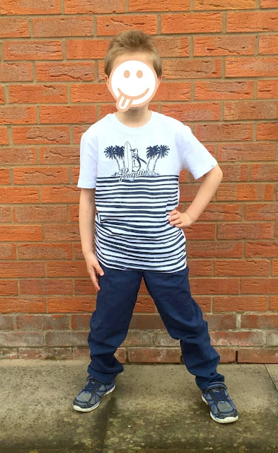 Penguin t-shirt, Chinos, trainers