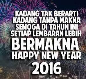 Kata Mutiara Tahun Baru Terbaru 2016 yang Bikin Semangat