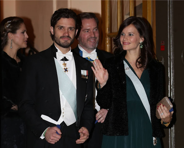 Prince Carl Philip and Princess Sofia Hellqvist of Sweden