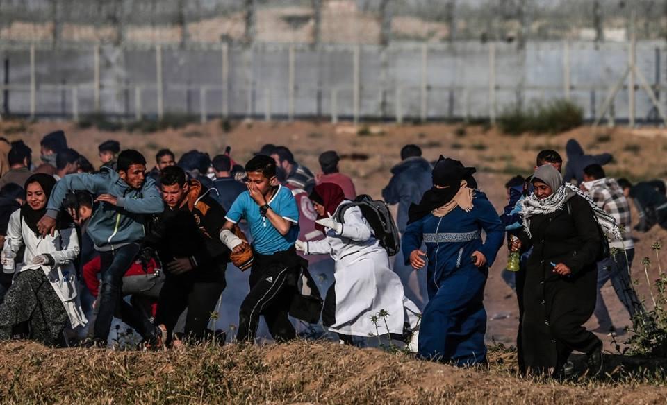 #ألبوم_صور #عشرات_الإصابات بنيران #الاحتلال اثر قمع فعاليات #جمعة_يوم_الأسير ضمن فعاليات #مسيرة_العودة وكسر الحصار المتواصلة في #قطاع_غزة.