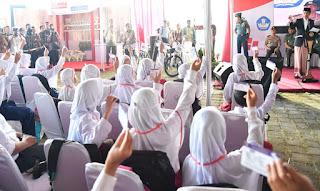 Presiden Jokowi: Gunakan KIP Benar-benar Untuk Keperluan Sekolah