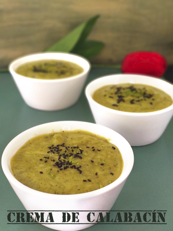 Crema de calabacin la cocinera novata verduras cocina receta gastronomia bajo en calorias pobres vegetariano vegano sopa