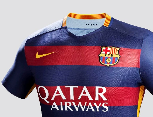 Barcelona 2015-16 home jersey