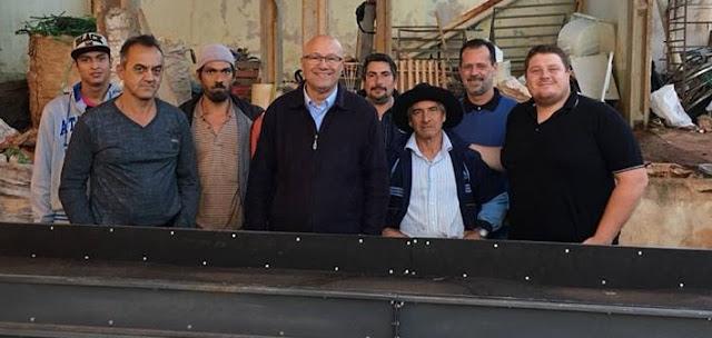 Romanelli entrega equipamentos para Cooperativa de Reciclagem de Palmital