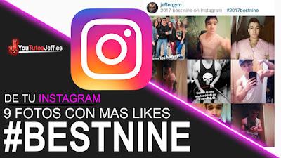 BestNine, instagram