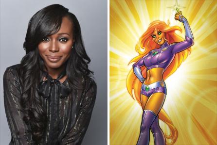 Desde o anuncio da série Titãs e da divulgação de peças como fotos e vídeos, os fãs reclamaram muito do visual de alguns personagens, como, Estelar e Mutano, parecia que apenas o visual do Robin havia sido aprovado, nem a da Ravena foi aplaudido de pé.