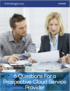 """6 Questions For a Prospective Cloud Service Provider"""