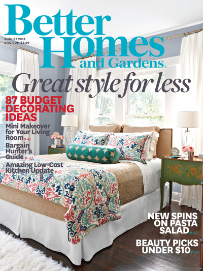 Coupon stl better homes garden magazine subscription - Better homes and gardens subscription ...