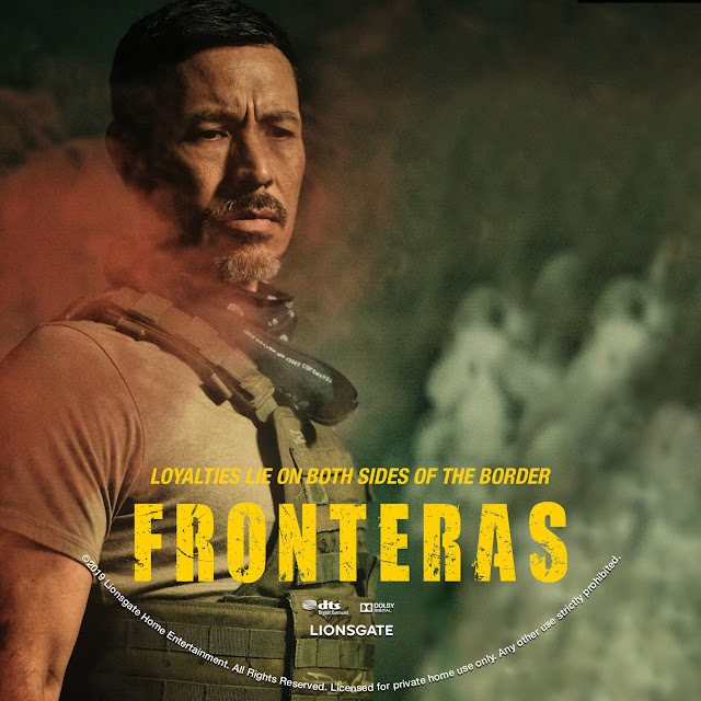 Fronteras DVD Label