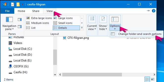 Display Full Path in Title Bar of File Explorer in Windows-www.ceofix.net
