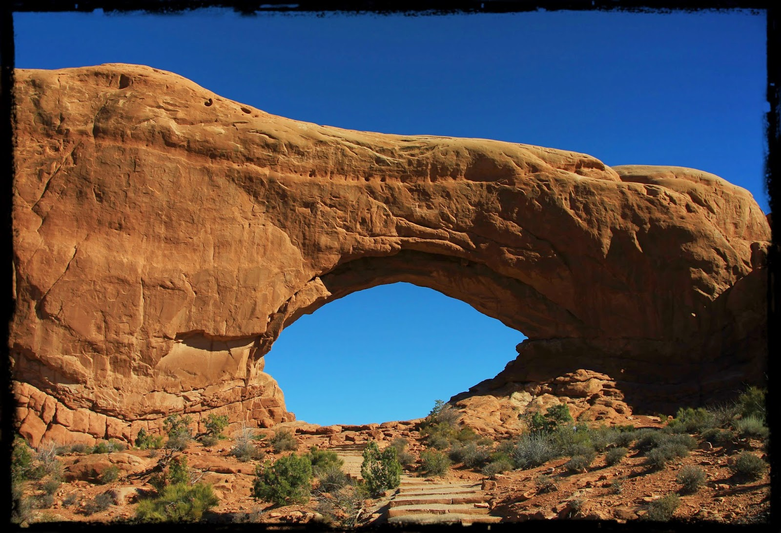 Windows Arch, Arches National Park, Utah