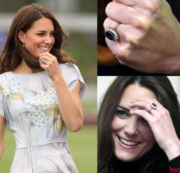Catherine Middleton Wedding Ring: Bröllopsbloggen: Kate Middletons Förlovningsring