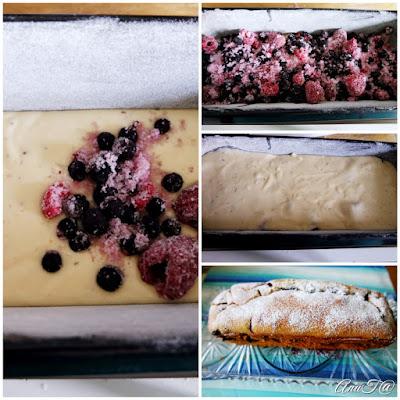 marjatorttu, torttu leipävuokassa, maailman paras marjatorttu, kuningatartorttu