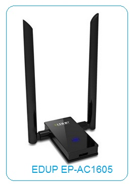 Direct Download EDUP EP-AC1605 (AC1200, AC1200Mbps) Wireless