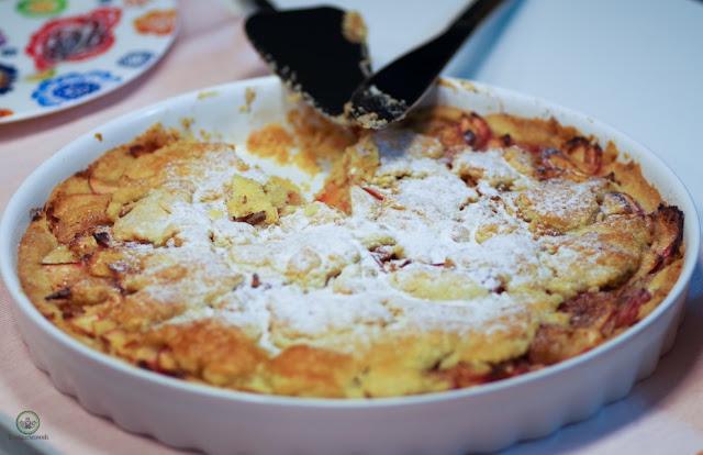 Gedeckter Apfelkuchen gedeckte Apfeltarte - Foodblog Topfgartenwelt