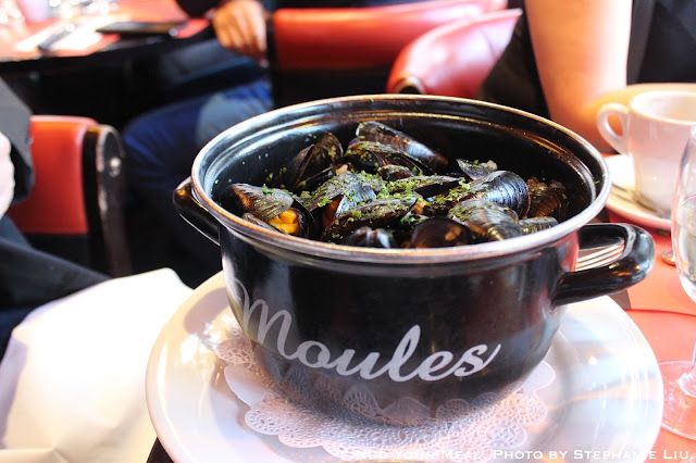 Mussels at Le Suffren