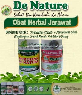Cara alami menghilangkan bekas jerawat dengan Spirulina De Nature