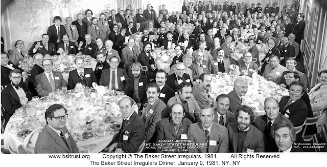 The 1981 BSI Dinner group photo