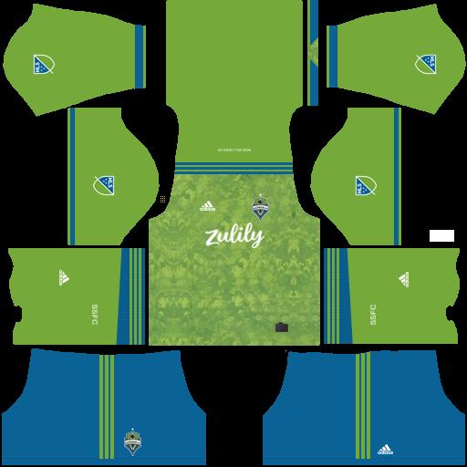 811cc7df383338 Kits/Uniformes Seattle Sounders - MLS 2019 - FTS 15/DLS. Kits/Uniformes Seattle  Sounders - MLS 2019 - FTS 15/DLS