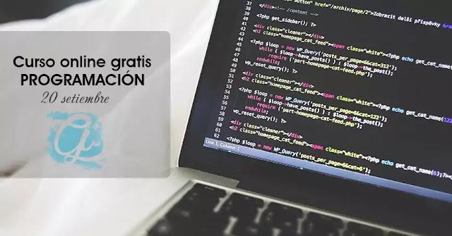 Curso online gratis de programación básica