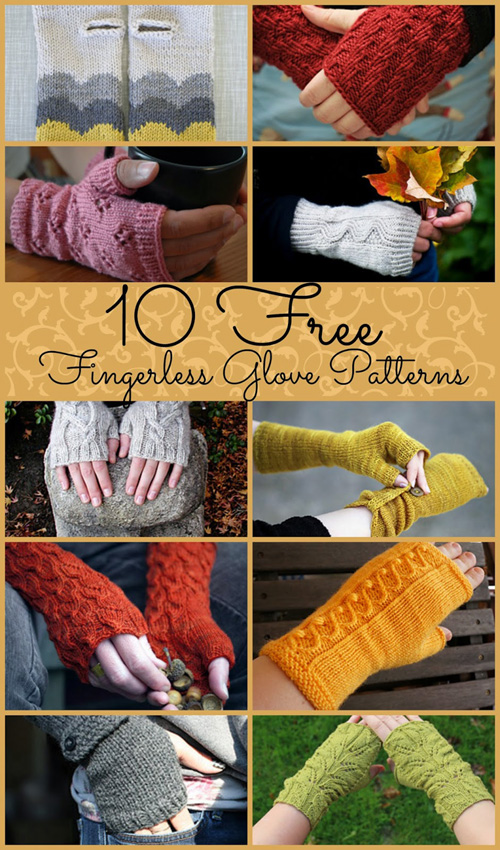 Free Fingerless Gloves Patterns