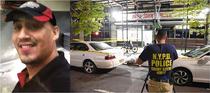 Detienen sospechoso por el asesinato de repartidor dominicano de Pizzas en Manhattan