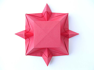 Origami, vista posteriore: Scatola cristallina © by Francesco Guarnieri