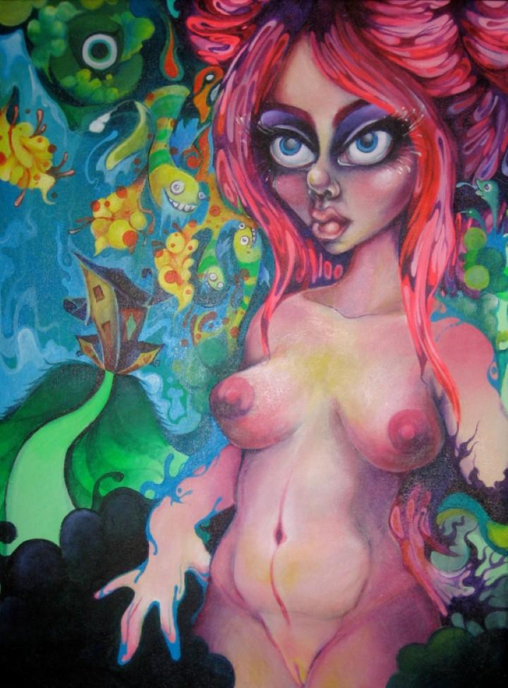 Художница Rebeca Tellez. Придуманный мир 5