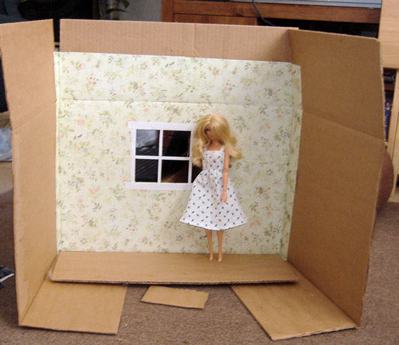Barbie Bedroom In A Box: Hollys Crafts Blog: Barbie Doll Diorama Box
