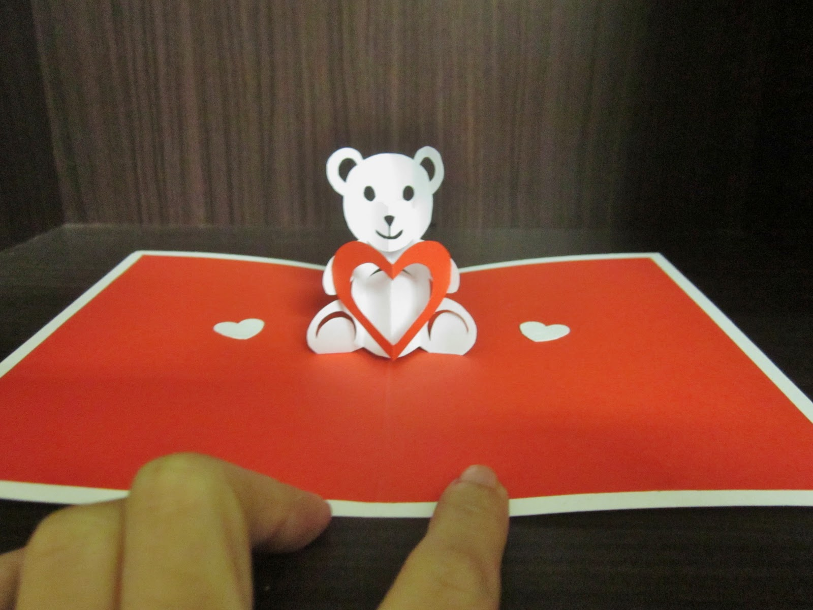 teddy bear pop up card template free - the gallery for handmade paper quilling birthday cards